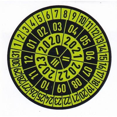 Kontrolní štítek