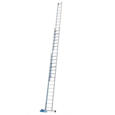 Skyline 3E třídílný výsuvný žebřík s lanem